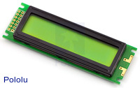 16x2 Character LCD (Parallel Interface)