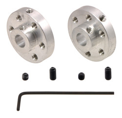 New products: Universal mounting hubs for 1/4″ shafts