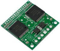 Pololu High-Current Dual Motor Driver Carrier Board (VNH2SP30 or VNH3SP30) .