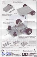 Instructions for Tamiya 70157 Universal Plate Set (2pcs.) page 2.