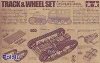 Box back for Tamiya 70100 Track and Wheel Set