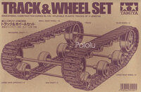Box front for Tamiya 70100 Track and Wheel Set