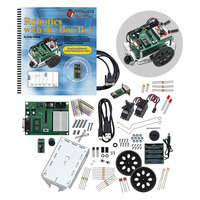 Parallax Boe-Bot Robot Kit - Serial (with USB adapter and cable) #28132