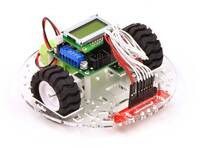 """Pololu 5"""" Robot CHASSIS RRC04A Solid Black"""