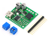 Pololu jrk 21v3 USB motor controller with included hardware.