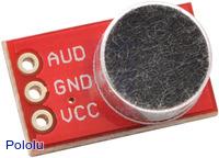 Electret Microphone Breakout Board