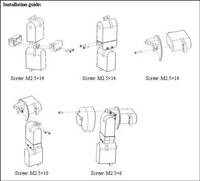 Joinmax Digital Shoulder Joint Kit assembly diagram.