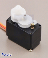 Gears of the Power HD micro digital servo DS65HB.