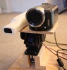Automatic Infrared Light Source Tracking HD Camcorder