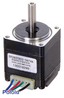 Stepper Motor: Bipolar, 200 Steps/Rev, 28×32mm, 3.8V, 0.67 A/Phase