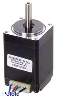 Stepper Motor: Bipolar, 200 Steps/Rev, 28×45mm, 4.5V, 0.67 A/Phase
