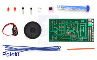 Elenco AK-100 learn to solder kit parts.