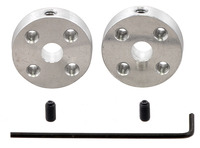 Pololu Universal Aluminum Mounting Hub for 5mm Shaft, #4-40 Holes (2-Pack)