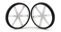 Pololu Wheel 90x10mm Pair - White