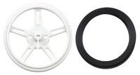 Pololu Wheel 60x8mm Pair - Black