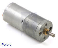 9.7:1 Metal Gearmotor 25Dx48L mm