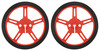 Pololu Wheel 60x8mm Pair - Red
