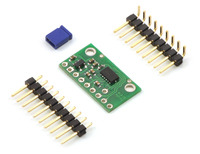 MMA7361L/MMA7341L 3-axis accelerometer with voltage regulator with included hardware.
