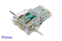 Tamiya 89915 Twin-Motor Gearbox Kit - Clear