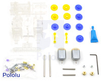 Tamiya 70168 double gearbox kit  – clear.