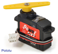Power HD High-Speed Digital Sub-Micro Servo DSP33
