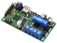 Simple High-Power Motor Controller 18v25 or 24v23 with included hardware installed.