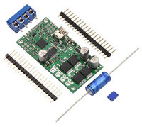 Simple High-Power Motor Controller 18v25 or 24v23 with included hardware.