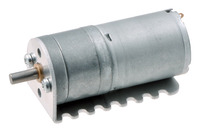 Pololu 25D mm gearmotor with bracket.