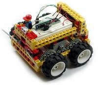 BASIC LEGO robot.