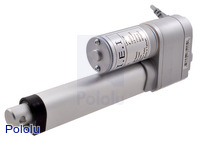 "Concentric LACT4P-12V-5 Linear Actuator with Feedback: 4"" Stroke, 12V, 1.7""/s"