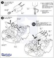 Instructions for Tamiya 70195 Wall-Hugging Ladybug page 2.