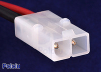 Male Tamiya plug connector.