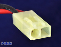 Male mini Tamiya plug connector.