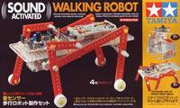 Tamiya 70166 Sound Activated Walking Robot box front.