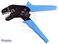 Crimping tool: 0.1-1.0 mm² capacity, 16-28 AWG.
