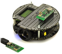 Wireless PC control of a 3pi robot using a pair of Wixels.