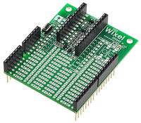 Wixel shield for Arduino (fully assembled).