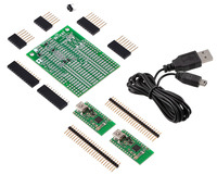 Wixel Shield for Arduino + Wixel Pair + USB cable