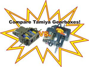 Icon for links to Tamiya Gear Ratio Comparison Table.