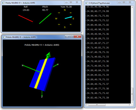 MinIMU-9 v5 Gyro, Accel, and Compass | Sensor - Inertia