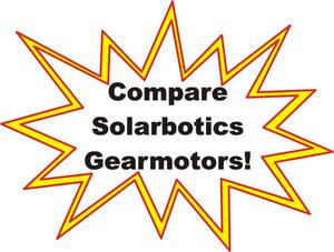 Icon for links to Solarbotics Gearmotor Comparison Table.