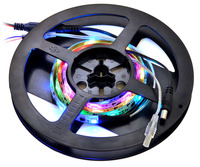 1-meter addressable RGB LED strip on included reel.