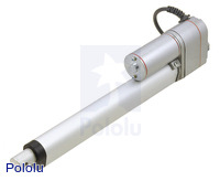 "Generic Linear Actuator with Feedback: 8"" Stroke, 12V, 0.6""/s"