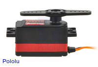 Power HD coreless digital Servo 1207TG side