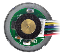 37D mm metal gearmotor with 64 CPR encoder.