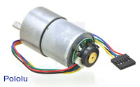 100:1 Metal Gearmotor 37Dx57L mm with 64 CPR Encoder