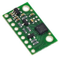 L3GD20 3-axis gyro carrier with voltage regulator.