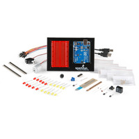 SparkFun Inventor's Kit for Arduino with included components.