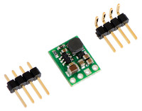 Pololu step-down voltage regulator D24VxFx with included hardware.