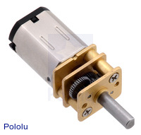 10:1 Micro Metal Gearmotor MP